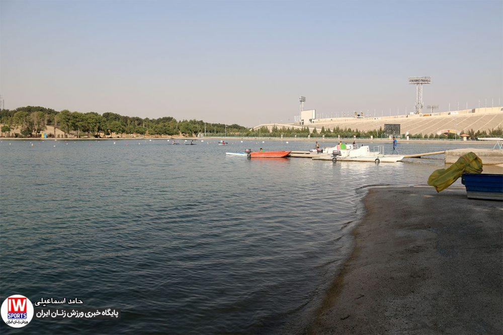 تمرین تیم ملی قایقرانی رویینگ کانو بانوان 1 1000x667 گزارش تصویری | تمرین تیمهای ملی قایقرانی رویینگ و آبهای آرام بانوان