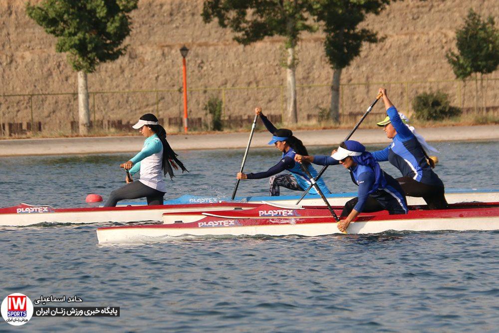 تمرین تیم ملی قایقرانی رویینگ کانو بانوان 14 1000x667 گزارش تصویری | تمرین تیمهای ملی قایقرانی رویینگ و آبهای آرام بانوان
