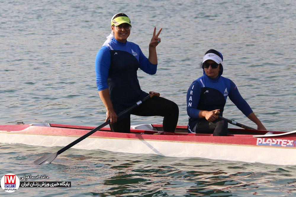 تمرین تیم ملی قایقرانی رویینگ کانو بانوان 9 1000x667 گزارش تصویری   تمرین تیمهای ملی قایقرانی رویینگ و آبهای آرام بانوان