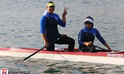 تمرین تیم ملی قایقرانی رویینگ کانو بانوان 9 400x240 آغاز دور جدید اردوی تیم ملی قایقرانی آبهای آرام از ۲۴ شهریور