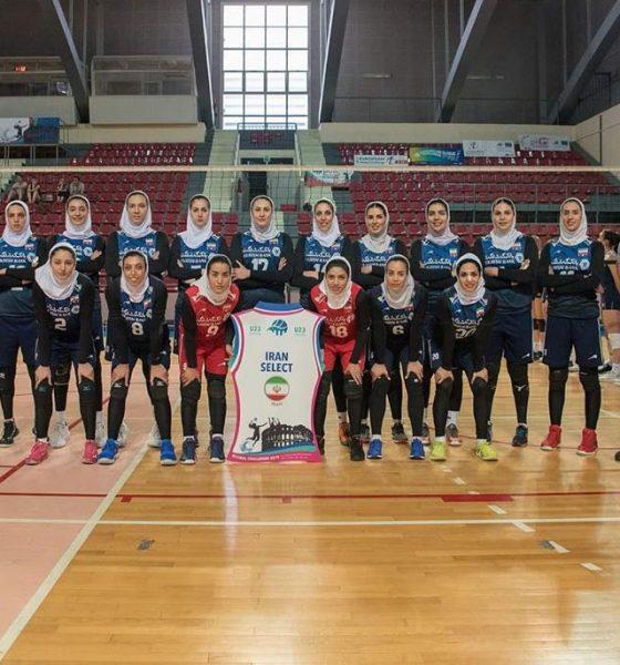 تیم ملی والیبال بانوان تورنمنت کرواسی 560x600 قهرمانی تیم ملی والیبال بانوان در کرواسی | آیا انتظارات از آن ها بالا رفته است؟