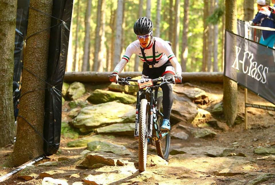 فرانک پرتو آذر تیم ملی دوچرخه سواری کوهستان بانوان در لبنان فرانک پرتو آذر : وجه قلبی دوچرخه سواری برای من بالاتر از مدال است