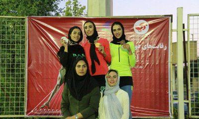 مسابقات دو و میدانی بانوان قهرمانی کشور مرداد 98 14 400x240 قهرمانی دختران گلستان در دو و میدانی قهرمانی کشور   2 رکورد ملی شکست