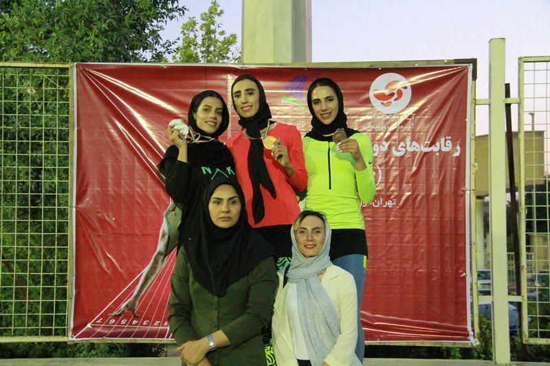 قهرمانی دختران گلستان در دو و میدانی قهرمانی کشور | 2 رکورد ملی شکست