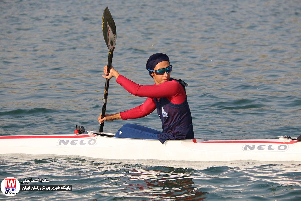 هدیه کاظمی : تنها مشکل دختران قایقران بیاطلاعی از رقبا است