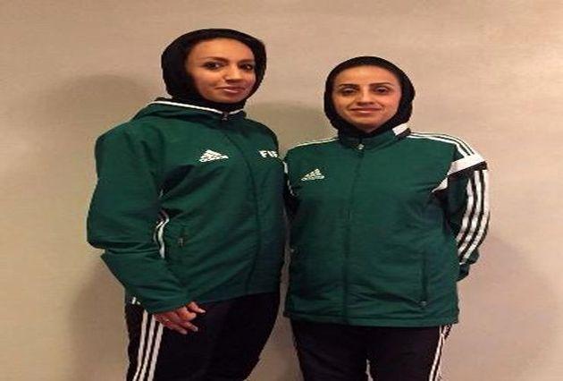 قضاوت بانوان داور ایران در بازیهای آسیایی ۲۰۱۹