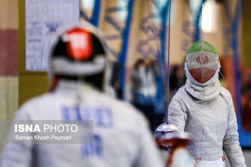 نتایج شمشیربازان ایران در روز اول قهرمانی جهان بوداپست