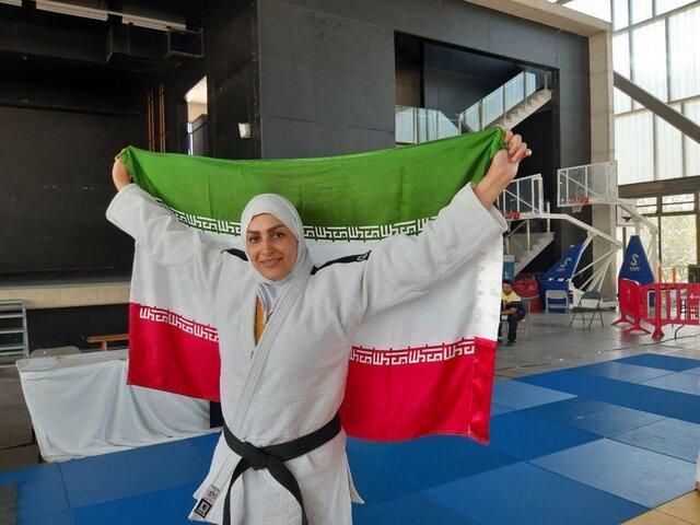 57904504 چهار مدال برای دختران ایران در بازی های جهانی کارگری| اولین طلای جهانی جودو به چغلوند رسید