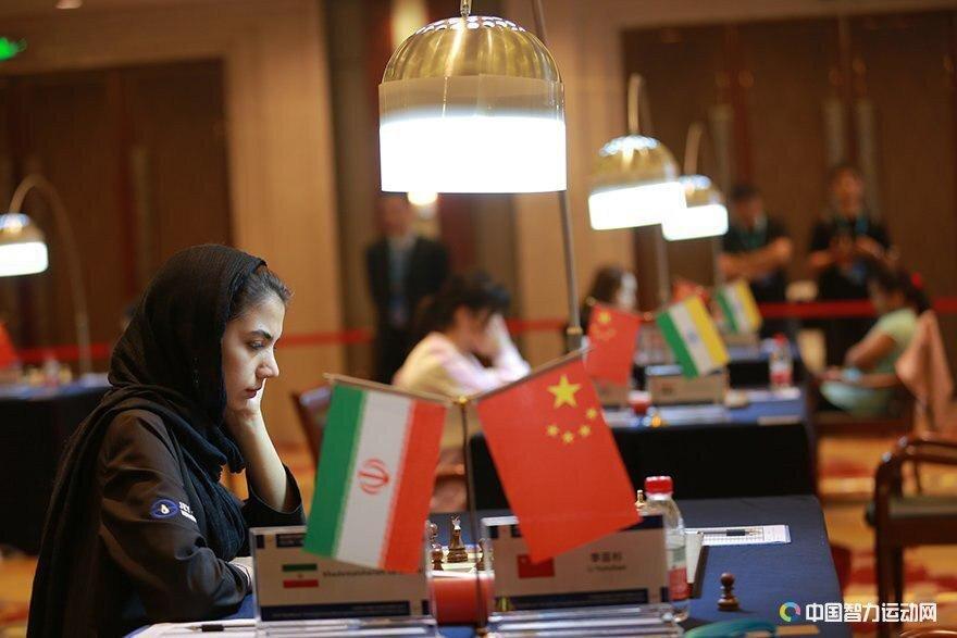 دومین پیروزی بانوی شطرنج باز ایران در چین/ برتری خادم الشریعه برابر نماینده میزبان