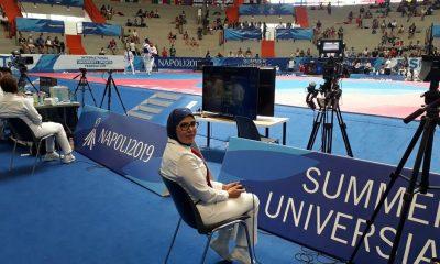 57908253 400x240 بدری اسدی، نخستین بانوی داوری ایران در بازیهای یونیورسیاد