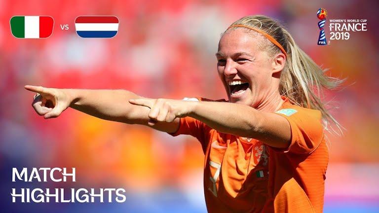 ویدئو | هلند 2-0 ایتالیا | جام جهانی فوتبال زنان