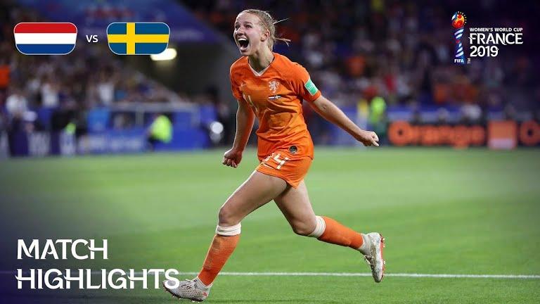 ویدئو | هلند 1-0 سوئد | جام جهانی فوتبال زنان