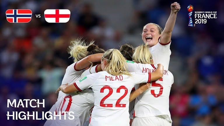 ویدئو | انگلیس ۳-۰ نروژ | جام جهانی فوتبال زنان