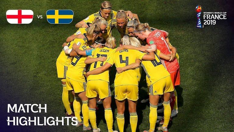 ویدئو | سوئد ۲-۱ انگلیس | دیدار رده بندی جام جهانی فوتبال زنان