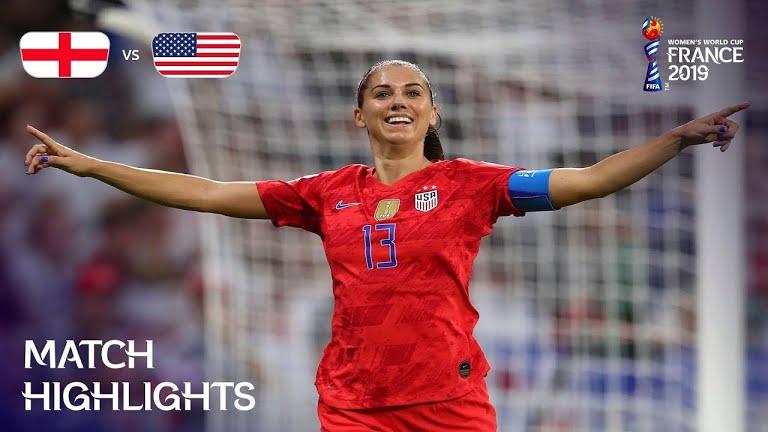 ویدئو | آمریکا ۲-۱ انگلیس | جام جهانی فوتبال زنان
