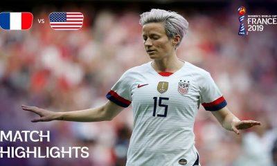 usa vs france fifa womens world cup megan rapinoe 400x240 ویدئو | آمریکا 2 1 فرانسه | جام جهانی فوتبال زنان