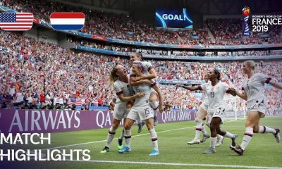 usa vs netherlands fifa womens world cup final 400x240 ویدئو   آمریکا 2 0 هلند   فینال جام جهانی فوتبال زنان 2019