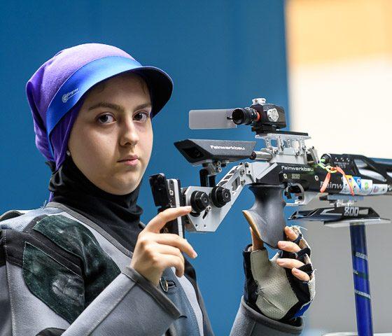 آرمینا صادقیان 560x480 نظرات آرمینا صادقیان پس از کسب سهمیه المپیک : فکر و ذکرم کسب سهمیه در برزیل نبود