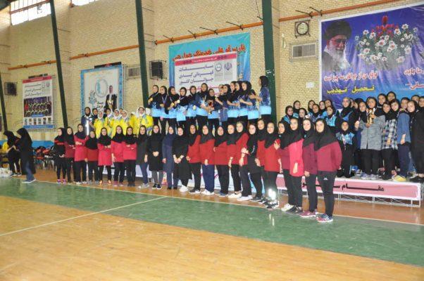 اختتامیه مسابقات کبدی جوانان دختر کشور در شیراز 602x400 تصاویر | مسابقات کبدی جوانان دختر کشور در شیراز
