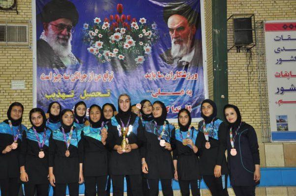 اختتامیه مسابقات کبدی جوانان کشور در شیراز 602x400 تصاویر | مسابقات کبدی جوانان دختر کشور در شیراز