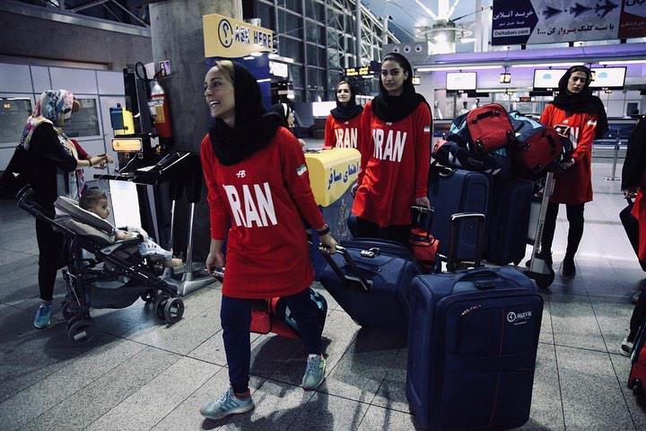 روز تاریخی بسکتبال بانوان ایران | دختران بسکتبالیست ایران عازم اردن شدند