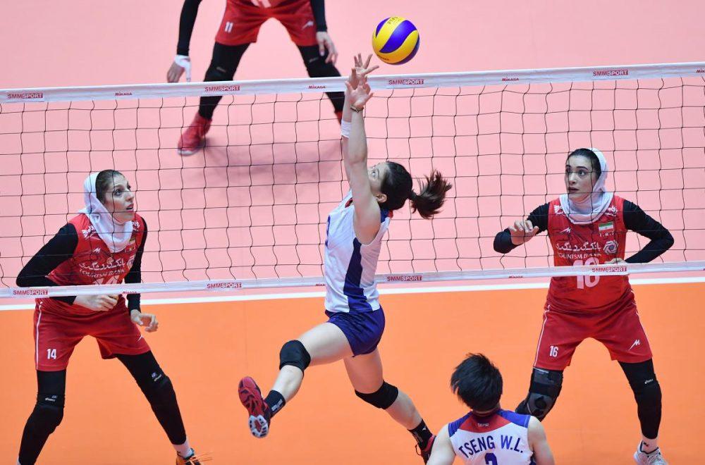 ایران چین تایپه والیبال قهرمانی زنان آسیا 12 1000x660 گزارش تصویری | دیدار ایران و چین تایپه در والیبال زنان آسیا