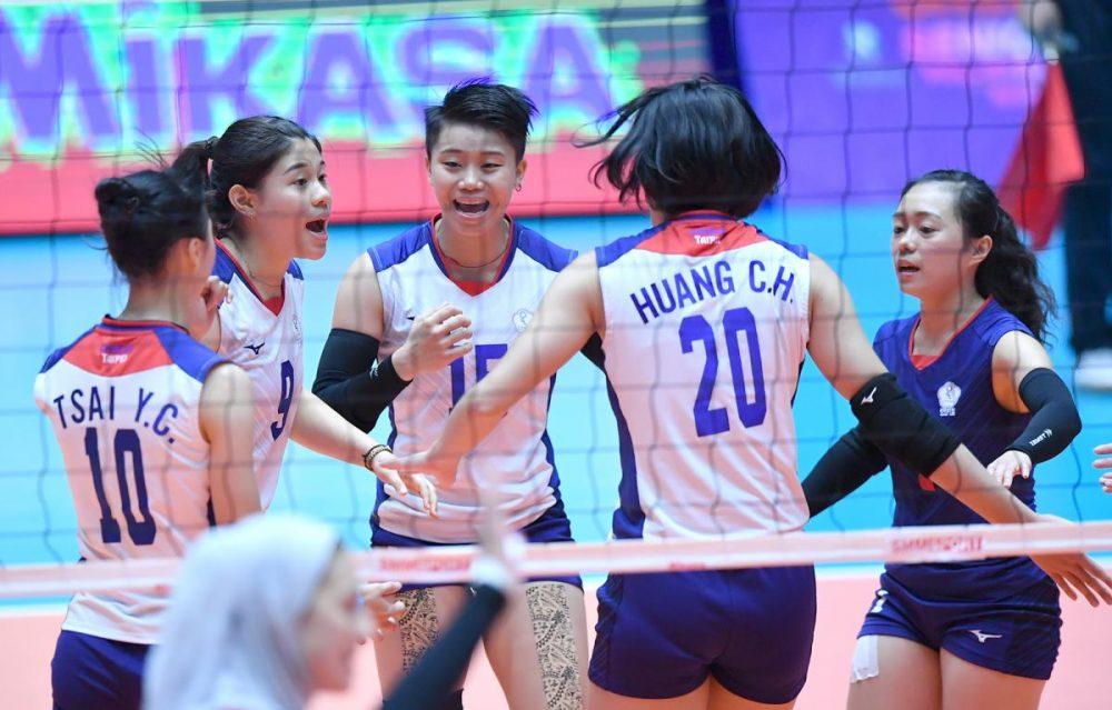 ایران چین تایپه والیبال قهرمانی زنان آسیا 4 1000x639 گزارش تصویری | دیدار ایران و چین تایپه در والیبال زنان آسیا
