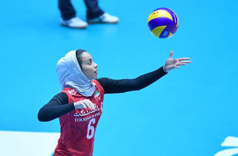 ایران چین تایپه والیبال قهرمانی زنان آسیا 5 1000x657 گزارش تصویری | دیدار ایران و چین تایپه در والیبال زنان آسیا