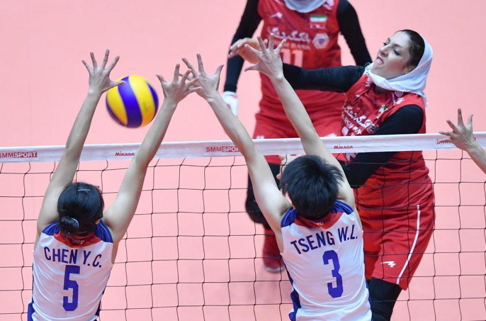 ایران چین تایپه والیبال قهرمانی زنان آسیا 7 1000x660 گزارش تصویری | دیدار ایران و چین تایپه در والیبال زنان آسیا