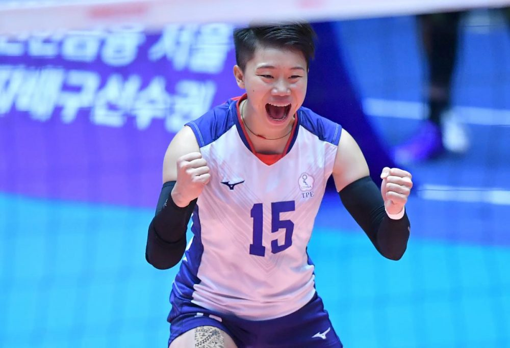 ایران چین تایپه والیبال قهرمانی زنان آسیا 8 1000x683 گزارش تصویری | دیدار ایران و چین تایپه در والیبال زنان آسیا