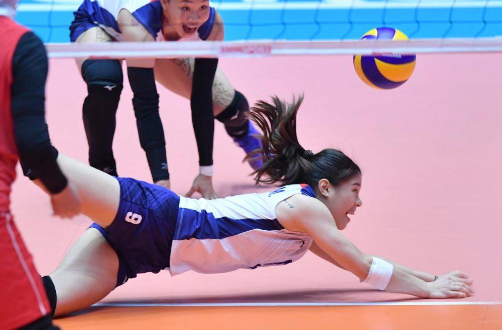 ایران چین تایپه والیبال قهرمانی زنان آسیا 9 1000x658 گزارش تصویری | دیدار ایران و چین تایپه در والیبال زنان آسیا