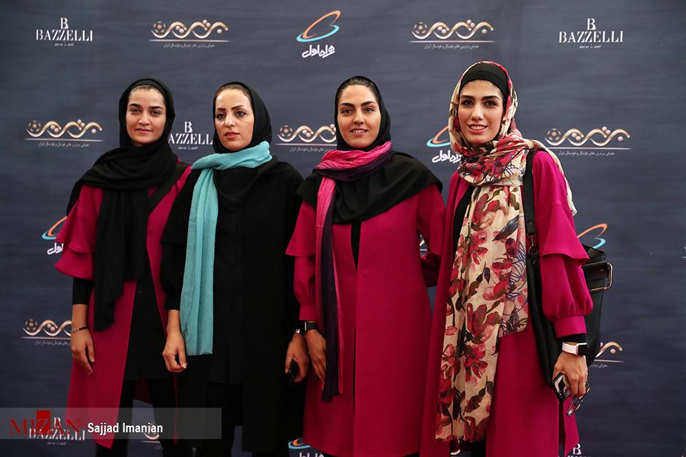 برترین های فوتبال بانوان در مراسم برترین های فوتبال ایران 8 برترین های فوتبال بانوان معرفی شدند | با کدام معیار ؟ با کدام روش ارزیابی؟