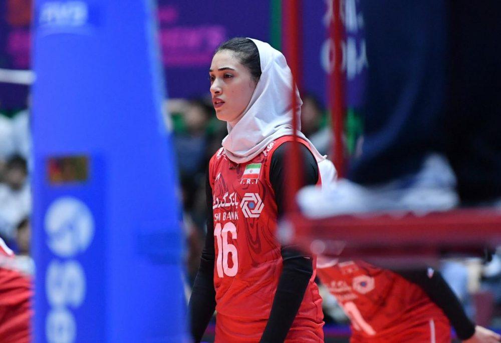 تصاویر دیدار تیم های ملی والیبال بانوان ایران و کره جنوبی 16 1000x685 گزارش تصویری دیدار والیبال بانوان ایران و کره جنوبی