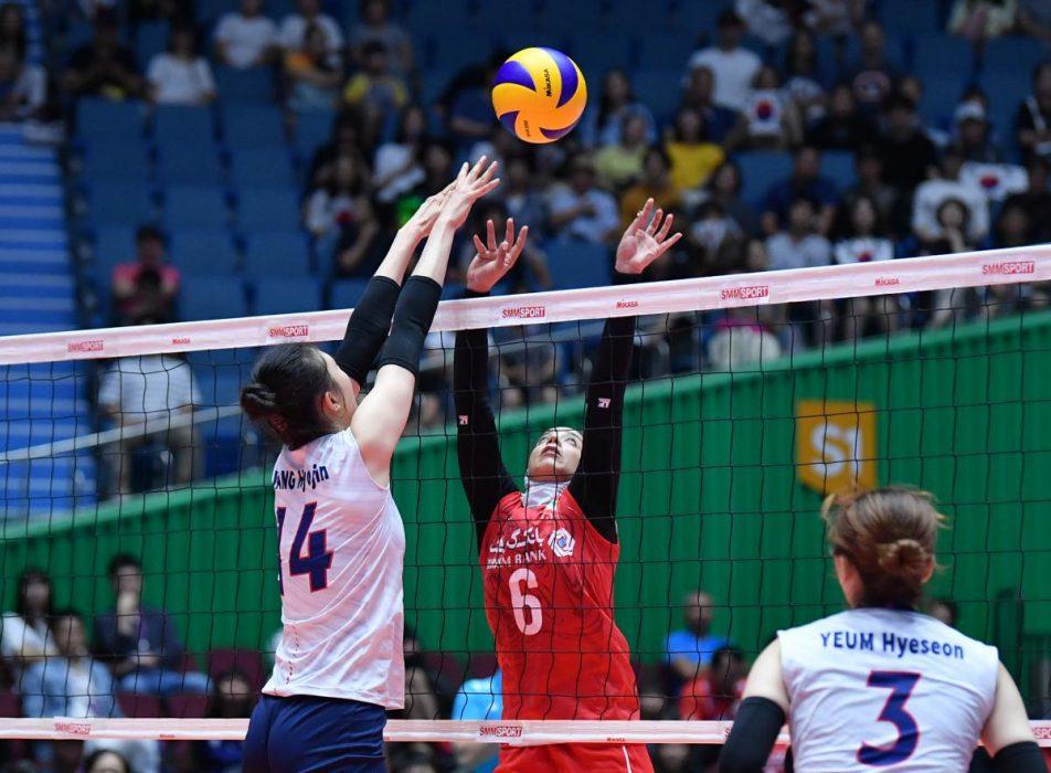 تصاویر دیدار تیم های ملی والیبال بانوان ایران و کره جنوبی 17 952x700 گزارش تصویری دیدار والیبال بانوان ایران و کره جنوبی