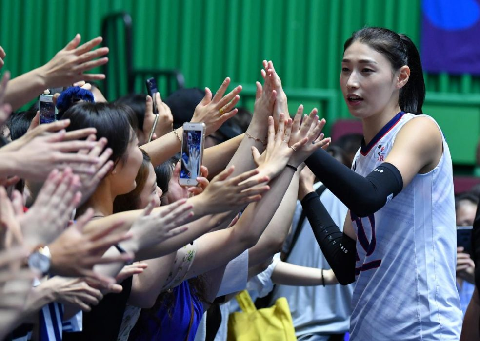تصاویر دیدار تیم های ملی والیبال بانوان ایران و کره جنوبی 19 984x700 گزارش تصویری دیدار والیبال بانوان ایران و کره جنوبی