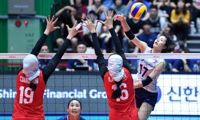 تصاویر دیدار تیم های ملی والیبال بانوان ایران و کره جنوبی 2 400x240 ایران صفر کره جنوبی 3 | شکست تیم ملی والیبال ایران برابر کره جنوبی در هیاهوی سئول