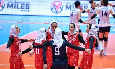 تصاویر دیدار تیم های ملی والیبال بانوان ایران و کره جنوبی 3 400x240 تردید فدراسیون والیبال در مورد حضور تیم زنان در انتخابی المپیک | پای پول در میان است
