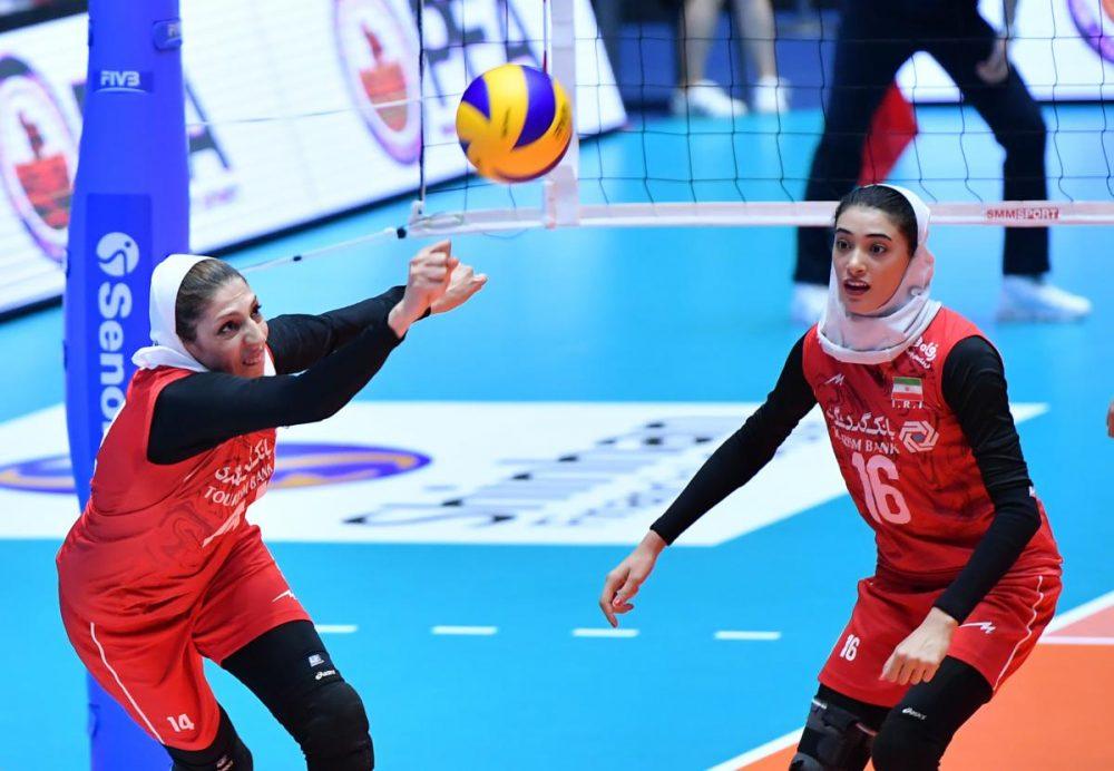 تصاویر دیدار تیم های ملی والیبال بانوان ایران و کره جنوبی 4 1000x692 گزارش تصویری دیدار والیبال بانوان ایران و کره جنوبی