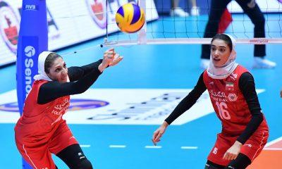 تصاویر دیدار تیم های ملی والیبال بانوان ایران و کره جنوبی 4 400x240 ویدئو | هایلایت های دیدار والیبال بانوان ایران و کره جنوبی
