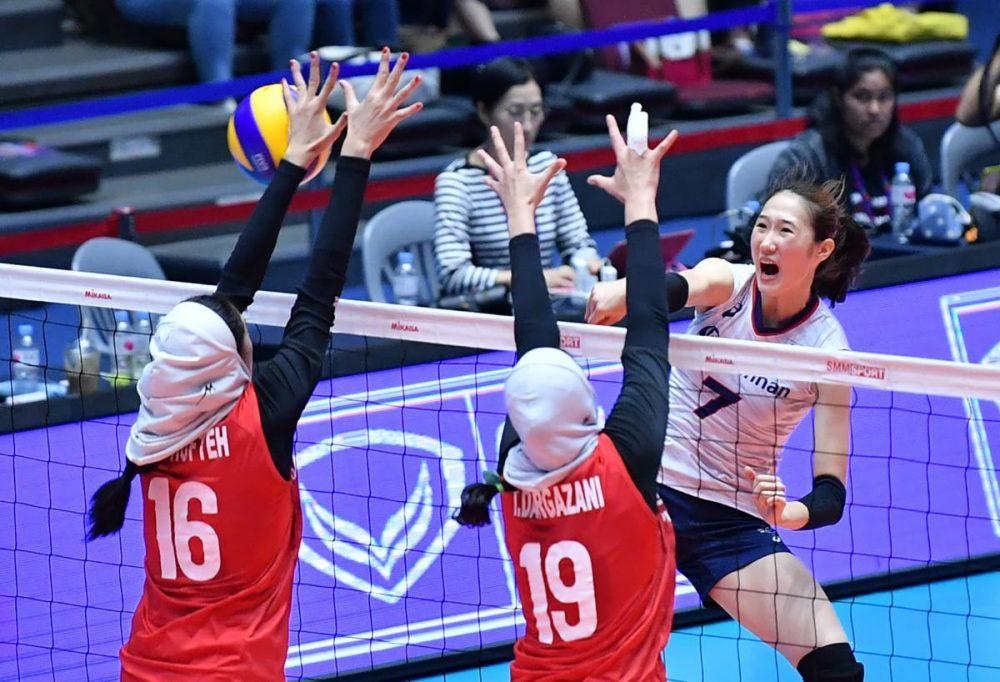 تصاویر دیدار تیم های ملی والیبال بانوان ایران و کره جنوبی 8 1000x682 گزارش تصویری دیدار والیبال بانوان ایران و کره جنوبی