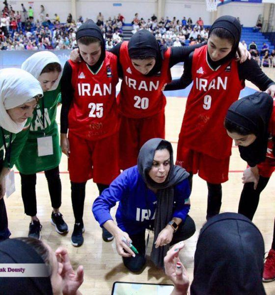 تیم ملی بسکتبال بانوان شایسته متشرعی 560x600 ایران ۶۱ سوریه ۶۸ | ایران در دیدار رده بندی بسکتبال زنان غرب آسیا