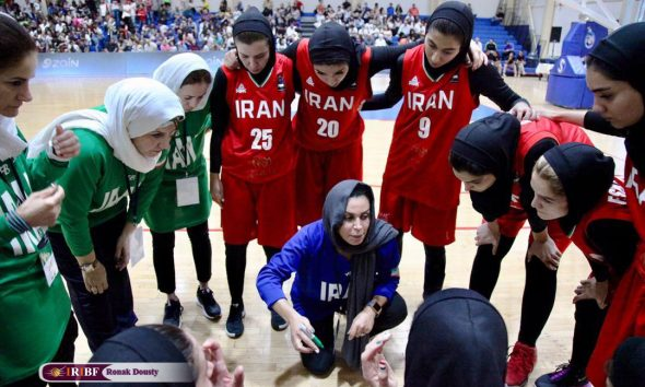 تیم ملی بسکتبال بانوان شایسته متشرعی 590x354 ایران ۶۱ سوریه ۶۸ | ایران در دیدار رده بندی بسکتبال زنان غرب آسیا