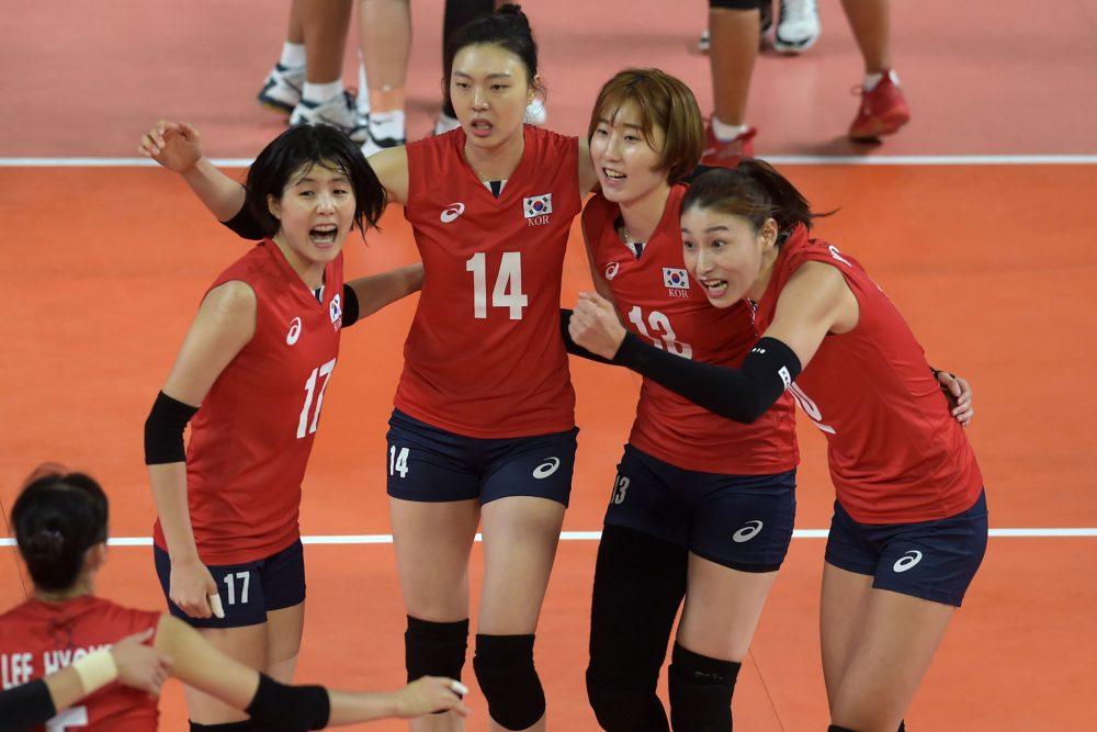 تیم ملی والیبال کره جنوبی 1000x667 ایران و کره جنوبی | آغاز نبرد دختران بلند قامت ایران در والیبال آسیا |  چشم امید به مائده