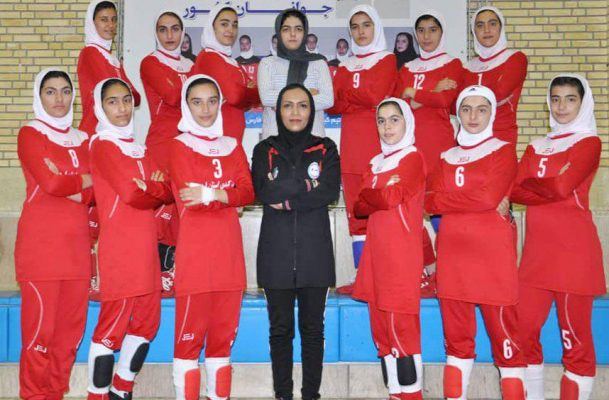تیم کبدی اردبیل در مسابقات جوانان دختر کشور در شیراز 609x400 تصاویر | مسابقات کبدی جوانان دختر کشور در شیراز