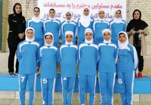 تیم کبدی ایلام در مسابقات جوانان دختر کشور در شیراز 572x400 تصاویر | مسابقات کبدی جوانان دختر کشور در شیراز