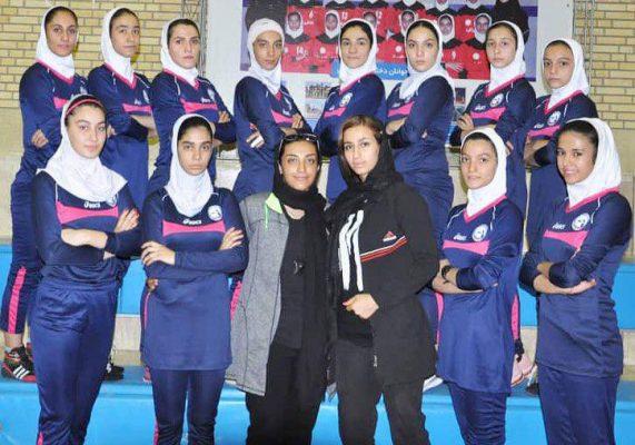 تیم کبدی تهران در مسابقات جوانان دختر کشور در شیراز 571x400 تصاویر | مسابقات کبدی جوانان دختر کشور در شیراز