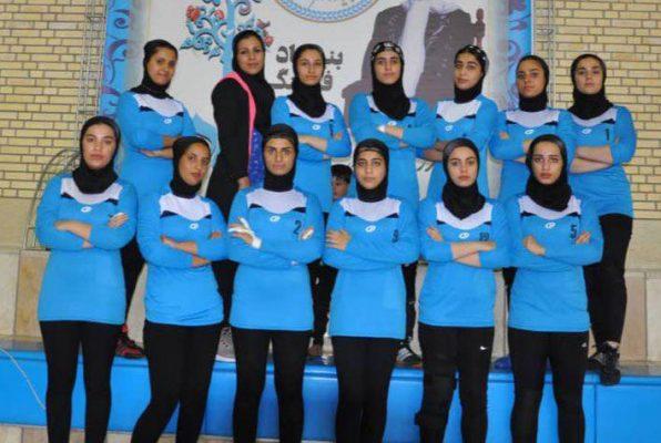 تیم کبدی خوزستان در مسابقات جوانان دختر کشور در شیراز 596x400 تصاویر | مسابقات کبدی جوانان دختر کشور در شیراز