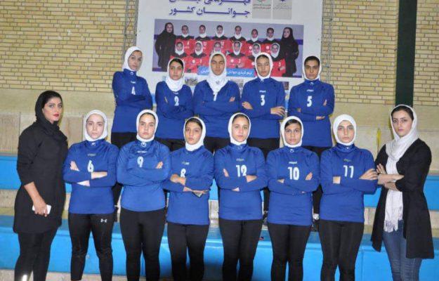 تیم کبدی زنجان در مسابقات جوانان دختر کشور در شیراز 625x400 تصاویر | مسابقات کبدی جوانان دختر کشور در شیراز