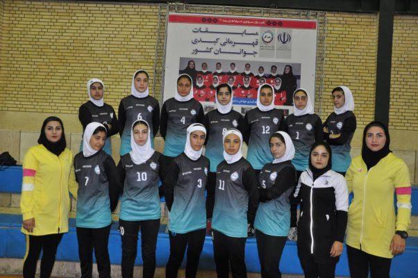 تیم کبدی قزوین در مسابقات جوانان دختر کشور در شیراز 602x400 تصاویر | مسابقات کبدی جوانان دختر کشور در شیراز
