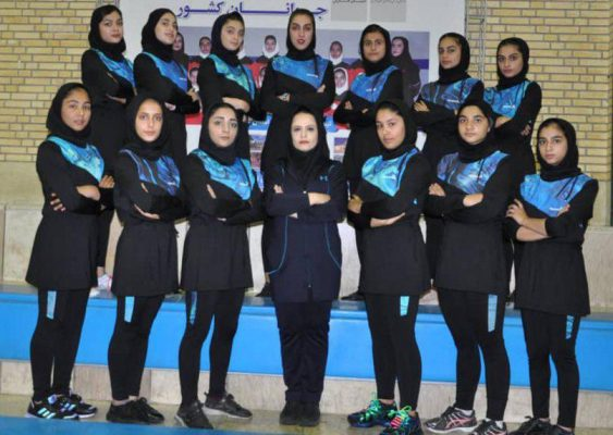 تیم کبدی مازندران در مسابقات جوانان دختر کشور در شیراز 563x400 تصاویر | مسابقات کبدی جوانان دختر کشور در شیراز